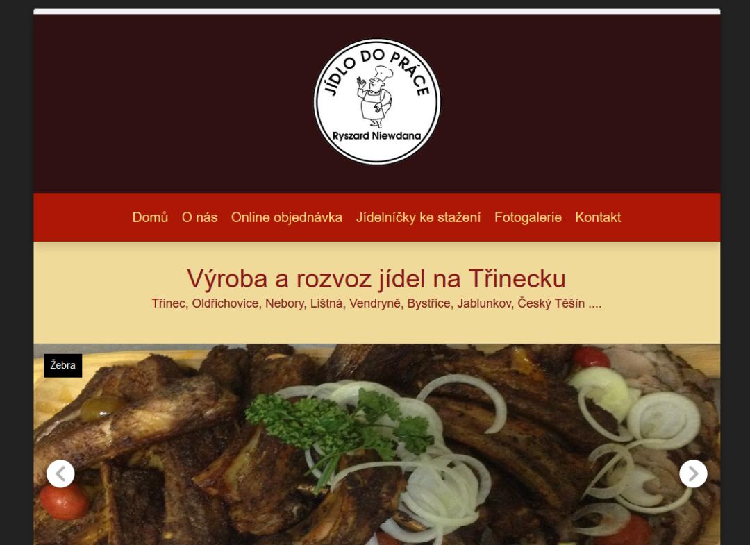 Jídlo do práce Třinec, Jablunkov, Bystřice